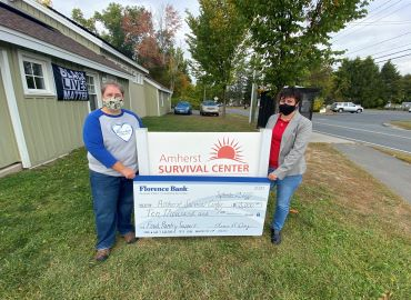 Amherst Survival Center Donation Check